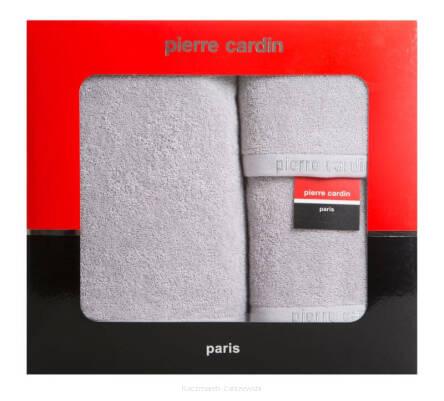 Komplet Ręczników 3 Szt Evi Pierre Cardin Srebrny