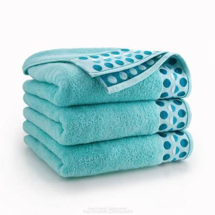 ręcznik miętowy kąpielowy