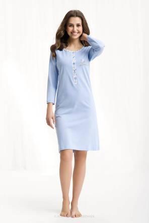 Koszula Luna 007 L, niebieski